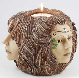 Maiden Mother Crone tealight
