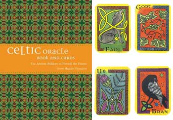 Celtic oracle bk & cards