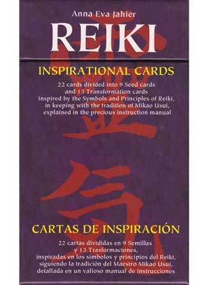 Reiki Inspirational Cards deck