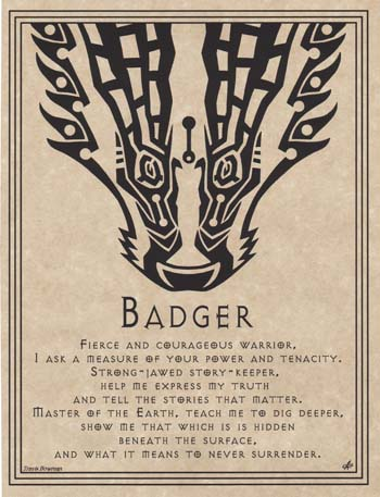 Badger Prayer