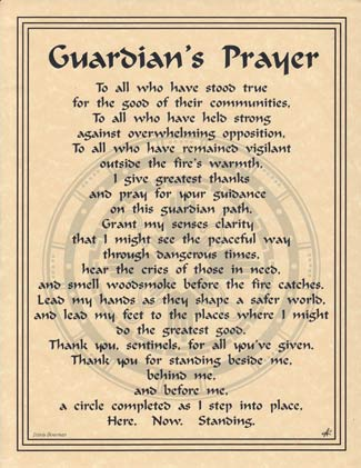 Guardian's Prayer