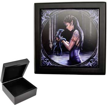 Anne Stokes Water Dragon box