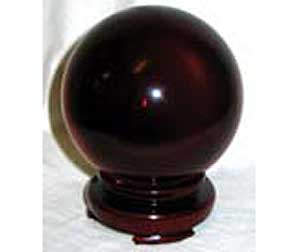 50mm Red crystal ball