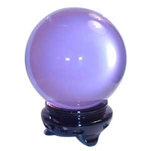 55 mm Lavender crystal ball