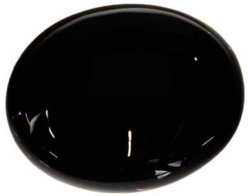 Palm Black Obsidian 2 1/2""