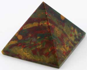 30- 35mm Bloodstone pyramid