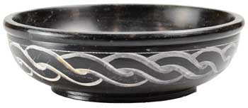 "5"" Black Celtic burner"