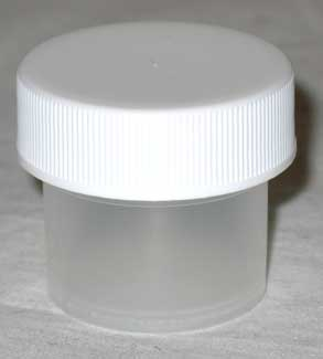 1/4oz Plastic Wide Top (c)