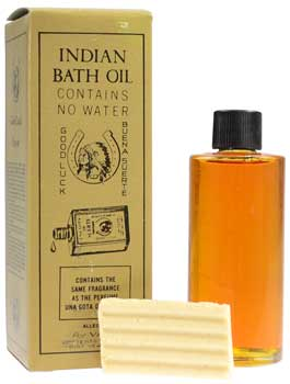 4 oz Indian bath oil