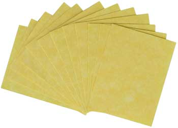 "12pk ~2""x2 1/2"" light parchment"