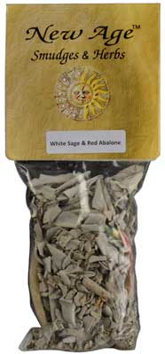 White Sage smudge W/ Shell