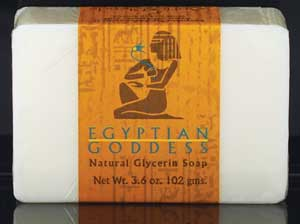 3.6oz Egyptian Goddess soap