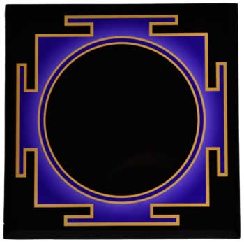 Third Eye Scrying Mirror 8""