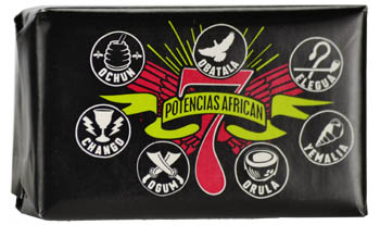 7 Potencias African soap 3.35oz original