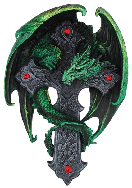 Woodland Cross Dragon 9""